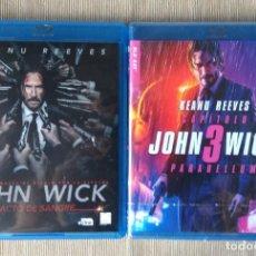 Cine: ENVIO INCLUIDO // BLU RAY PACK JOHN WICK 2 Y 3. Lote 218640232