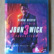Cine: ENVIO INCLUIDO // BLU RAY JOHN WICK 3 PARABELLUM. Lote 218640822