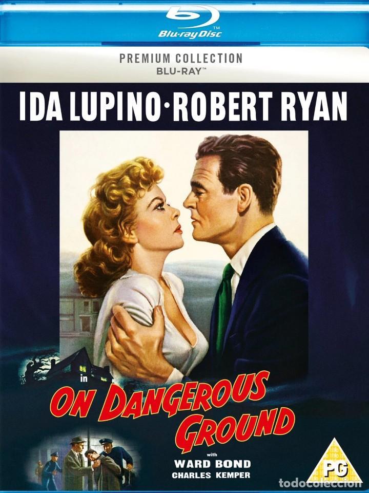 LA CASA EN LA SOMBRA. (ON DANGEROUS GROUNDS). EDICIÓN BRITÁNICA DE HMV (Cine - Películas - Blu-Ray Disc)