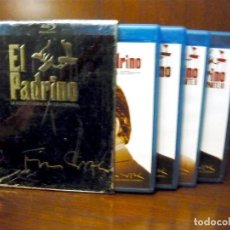 Cine: EL PADRINO LA REMASTERIZACION DE COPPOLA 4 BLU RAY CASTELLANO. Lote 219337482
