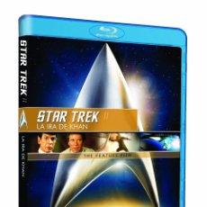 Cine: STAR TREK II - LA IRA DE KHAN (BLU-RAY). Lote 219618975