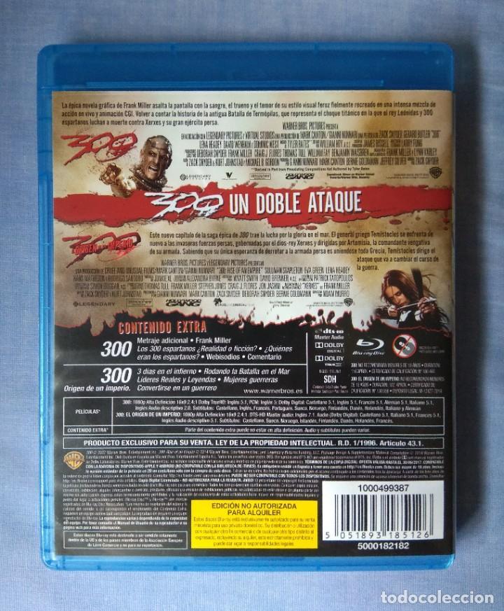 Cine: Envio incluido // Blu ray pack 300 y 300 El origen de un imperio - Foto 2 - 219884632