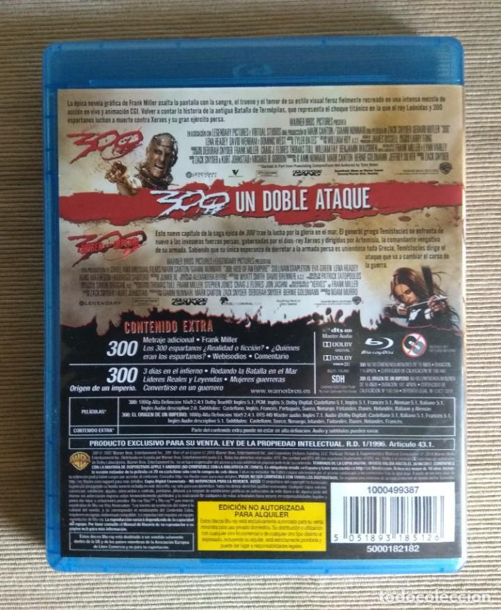 Cine: Envio incluido // Blu ray pack 300 y 300 El origen de un imperio - Foto 2 - 219884761