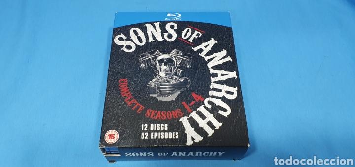 SERIE EN BLU-RAY - SONS OF ANARCHY - COMPLETE SEASONS 1 - 4 (Cine - Películas - Blu-Ray Disc)