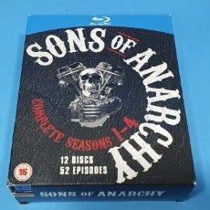 Cine: SERIE EN BLU-RAY - SONS OF ANARCHY - COMPLETE SEASONS 1 - 4. Lote 219988883