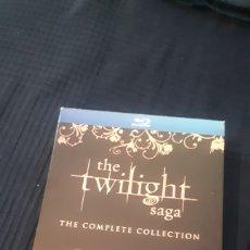 Cine: THE TWILIGHT SAGA COMPLETE CREPUSCULO SAGA COMPLETA BLU-RAY DISC BLURAY EN INGLES. Lote 220821685