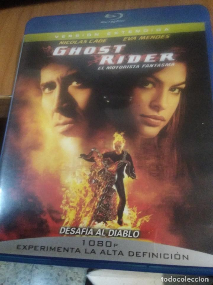 BLU-RAY GHOST RIDER EL MOTORISTA FANTASMA NICOLAS CAGE VERSIÓN EXTENDIDA (Cine - Películas - Blu-Ray Disc)