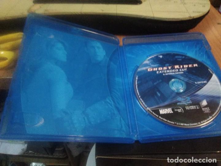 Cine: Blu-ray Ghost Rider el Motorista Fantasma Nicolas Cage versión extendida - Foto 2 - 221256767
