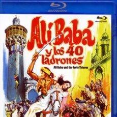 Cine: ALÍ BABÁ Y LOS 40 LADRONES (BLU-RAY DISC BD PRECINTADO) MARIA MONTEZ - JON HALL. Lote 273302698