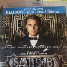 Cine: EL GRAN GATSBY (BLU-RAY) (THE GREAT GATSBY). Lote 221310792