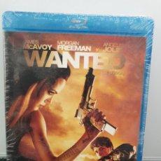 Cine: WANTED - BLU-RAY NUEVO PRECINTADO. JAMES MCAVOY, ANGELINA JOLIE, MORGAN FREEMAN (ENVÍO 2,40€). Lote 221627601