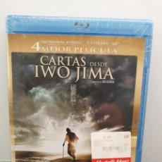 Cine: CARTAS DESDE IWO JIMA - BLU-RAY NUEVO PRECINTADO. CLINT EASTWOOD, KEN WATANABE (ENVÍO 2,40€). Lote 221627655