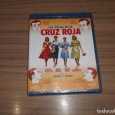 Cine: LAS CHICAS DE LA CRUZ ROJA BLU-RAY DISC TONY LEBLANC CONCHA VELASCO NUEVO PRECINTADO. Lote 221657420
