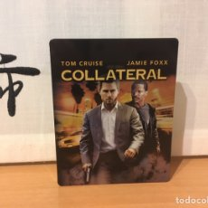 Cine: COLLATERAL STEELBOOK BLU-RAY CON AUDIO CASTELLANO ¡NUEVO!. Lote 221821386