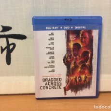 Cine: DRAGGED ACROSS CONCRETE REGIÓN A BLU-RAY (AUDIO ESPAÑOL) + DVD ¡NUEVO!. Lote 221833192