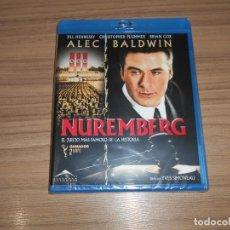 Cine: NUREMBERG EL JUICIO MAS FAMOSO DE LA HISTORIA BLU-RAY DISC ALEC BALDWIN NUEVO PRECINTADO. Lote 221874312