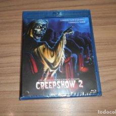 Cine: CREEPSHOW 2 BLU-RAY DISC DE STEPHEN KING Y GEORGE A. ROMERO NUEVO PRECINTADO. Lote 221875341