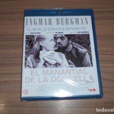 Cine: EL MANANTIAL DE LA DONCELLA EDICION ESPECIAL BLU-RAY DISC + LIBRO DE INGMAR BERGMAN NUEVO PRECNTADO. Lote 221877475