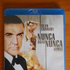 Cine: BLU-RAY NUNCA DIGAS NUNCA JAMAS - SEAN CONNERY - JAMES BOND 007 - COMO NUEVO (HA). Lote 222012732