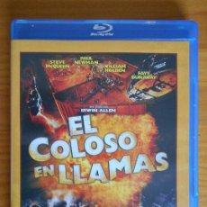 Cine: BLU-RAY EL COLOSO EN LLAMAS - STEVE MCQUEEN - COMO NUEVO (IK1). Lote 222016787