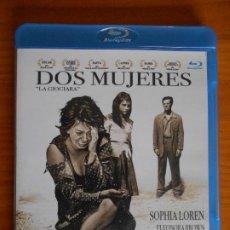 Cine: BLU-RAY DOS MUJERES - SOPHIA LOREN, JEAN-PAUL BELMONDO - VITTORIO DE SICA - COMO NUEVO (IK1). Lote 222016988