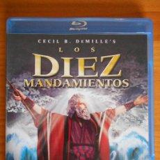 Cine: BLU-RAY LOS DIEZ MANDAMIENTOS - EDICION 2 DISCOS - CECIL B. DEMILLE'S (IK1). Lote 222017460