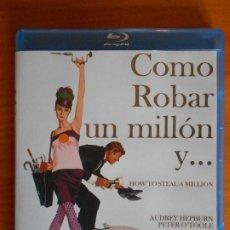 Cine: BLU-RAY COMO ROBAR UN MILLON Y... - AUDREY HEPBURN (IK1). Lote 222017633