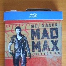 Cine: BLU-RAY MAD MAX COLECCION - TRILOGIA 3 DISCOS CAJA LATA GASOLINA - EDICION COLECCIONISTA (IK1). Lote 222018403