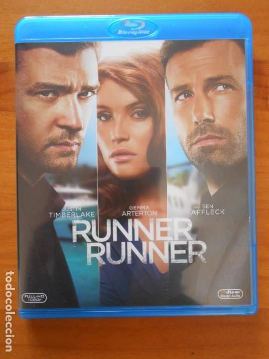 BLU-RAY RUNNER RUNNER - JUSTIN TIMBERLAKE, BEN AFFLECK - COMO NUEVO (IK1) (Cine - Películas - Blu-Ray Disc)