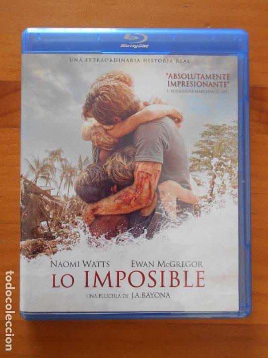 BLU-RAY LO IMPOSIBLE - J.A. BAYONA, NAOMI WATTS, EWAN MCGREGOR (HT) (Cine - Películas - Blu-Ray Disc)