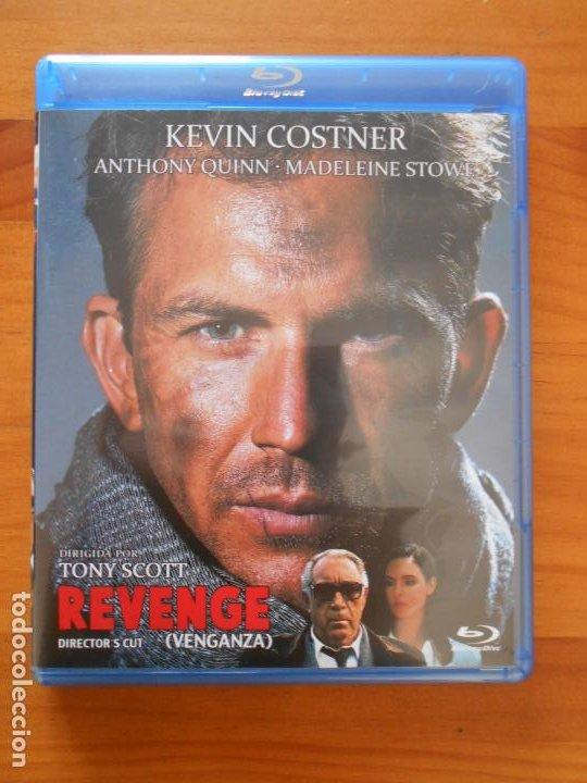 BLU-RAY REVENGE (VENGANZA) - KEVIN COSTNER, ANTHONY QUINN (HT) (Cine - Películas - Blu-Ray Disc)