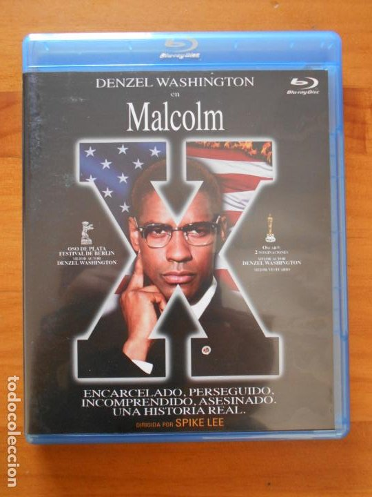 BLU-RAY MALCOLM X - DENZEL WASHINGTON (5Q) (Cine - Películas - Blu-Ray Disc)