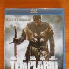 Cine: BLU-RAY TEMPLARIO - JAMES PUREFOY, BRIAN COX, PAUL GIAMATTI (IL). Lote 222163380