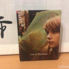 Cine: LOST IN TRANSLATION STEELBOOK BLU-RAY CON DISCO AMARAY EDICIÓN ESPAÑOLA ¡NUEVO!. Lote 222185217