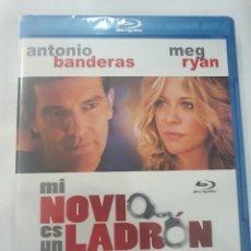 Cine: BLU-RAY - MI NOVIO ES UN LADRÓN - NUEVO Y PRECINTADO. Lote 222278891