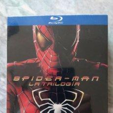 Cine: SPIDERMAN SPIDER-MAN LA TRILOGÍA PACK BLU-RAY PRECINTADO SPIDERMAN 1 A 3 TOBEY MAGUIRE KIRSTEN DUNST. Lote 222286461