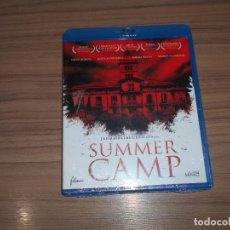Cine: SUMMER CAMP BLU-RAY DISC TERROR NUEVO PRECINTADO. Lote 222316606