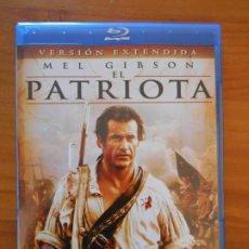 Cine: BLU-RAY EL PATRIOTA - VERSION EXTENDIDA - MEL GIBSON - COMO NUEVO (IA). Lote 222435368
