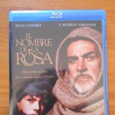 Cine: BLU-RAY EL NOMBRE DE LA ROSA - SEAN CONNERY (IA). Lote 222436705