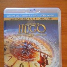 Cine: BLU-RAY 3D + BLU-RAY + DVD + COPIA DIGITAL LA INVENCION DE HUGO - EDICION LIMITADA 3 DISCOS (IA). Lote 222438127
