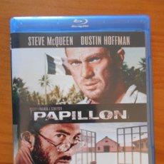 Cine: BLU-RAY PAPILLON - STEVE MCQUEEN, DUSTIN HOFFMAN - COMO NUEVO (IA). Lote 222438645