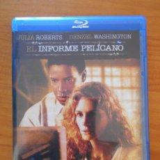 Cine: BLU-RAY EL INFORME PELICANO - JULIA ROBERTS, DENZEL WASHINGTON - COMO NUEVO (IA). Lote 222438842