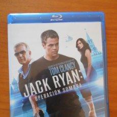 Cine: BLU-RAY JACK RYAN: OPERACION SOMBRA - TOM CLANCY - COMO NUEVO (IA). Lote 222441472