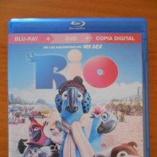 Cine: BLU-RAY RIO - SOLO BLU-RAY, NO INCLUYE DVD NI COPIA DIGITAL (6C). Lote 222543865