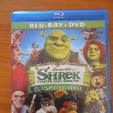 Cine: BLU-RAY SHREK FELICES PARA SIEMPRE... EL CAPITULO FINAL - NO INCLUYE DVD (5J). Lote 222551006