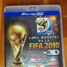 Cine: COPA MUNDIAL FIFA 2010 BLU-RAY EN 3D SELECCION ESPAÑOLA FUTBOL - DISCO EN MUY BUEN ESTADO. Lote 222717627