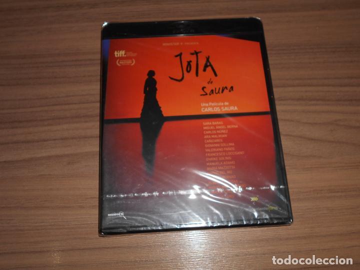 JOTA EDICION ESPECIAL BLU-RAY DISC DE CARLOS SAURA SARA BARAS NUEVO PRECINTADO (Cine - Películas - Blu-Ray Disc)