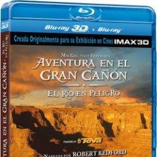 Cine: AVENTURA EN EL GRAN CAÑON EL RIO EN PELIGRO IMAX 3D BLU-RAY 2012. Lote 224324980