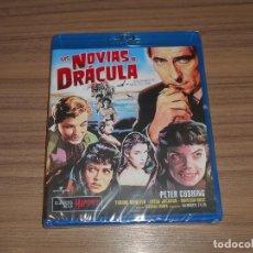 Cine: LAS NOVIAS DE DRACULA BLU-RAY DISC PATER CUSHING NUEVO PRECINTADO. Lote 263748305