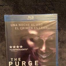 Cine: THE PURGE LA NOCHE DE LAS BESTIAS BLURAY PRECINTADO. Lote 225753095